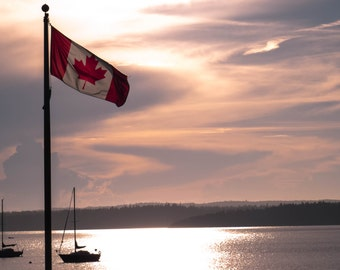 Canadian Flag Beauty