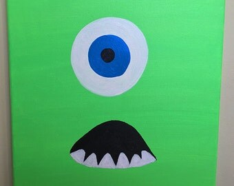 Monster's Inc Painting - Mike Wazowski