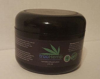 Truuhemp Award winning all natural healing lotion