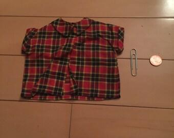 Plaid Doll Shirt