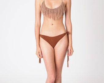 super cool fringe bikini
