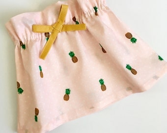 Darling {pineapple} swing skirt