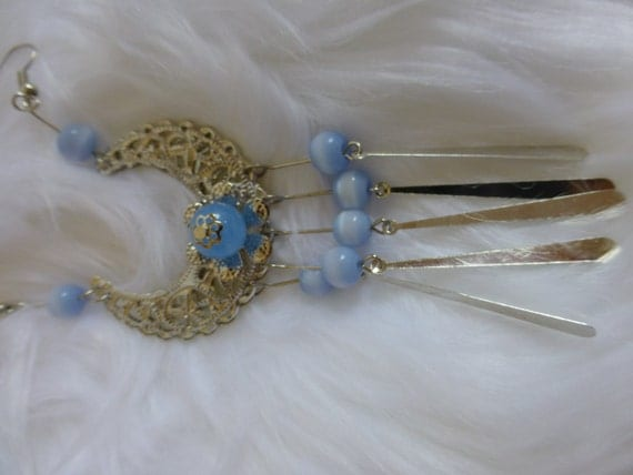 Chinese Sliver moon Forehead Hair Accessories