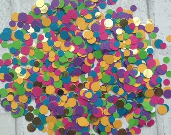 Bright & Shiny Small Confetti: party supplies - party decor - birthday - New Year's celebreation - bright colors