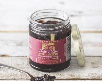 Cherry Wine Jam - Caramoomel