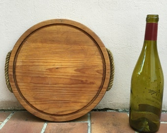 ANTIQUE VINTAGE FRENCH bread or chopping cutting board wood 313