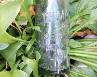 Wm Dieckman & Son 59-63  Stockholm St. Brooklyn NY, Vintage Bottle ( EST 1878 )