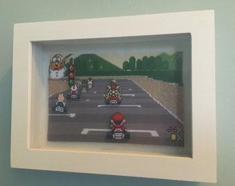 Mario Kart 3D Picture