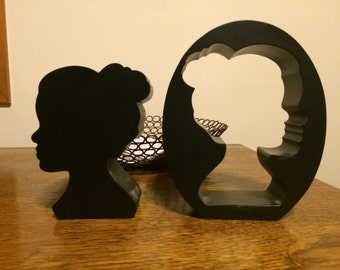Umbra Nested Silhouette Book-ends