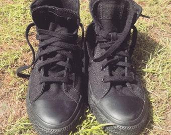 Vegan converse hi tops padded skate shoes