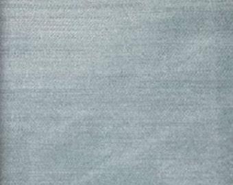 "55"" inch Wide Drapery/Upholstery Velvet Fabric Elegance Sky By The Yard"