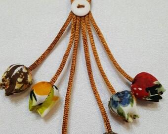 keychains handmade bag decorate Chiangmai Thailand
