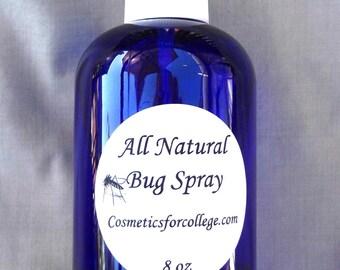 All Natural Bug Spray - 8 oz