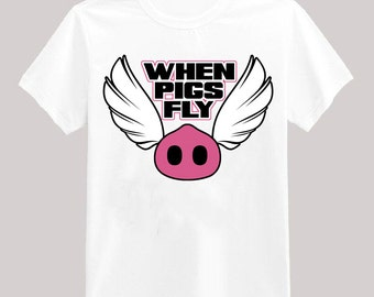 When Pigs Fly Graphic Tee