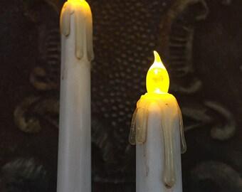 Grunge Candles (pair)