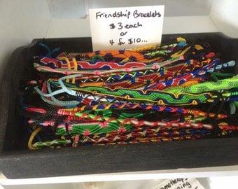 Friendship Bracelets...