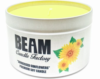 Sunkissed Sunflowers Soy Candle