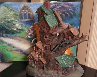 Fairy Cottage Lamp