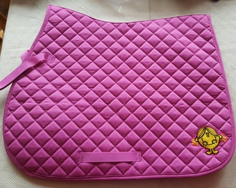 Little miss sunshine saddle cloth