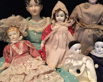 Victorian Porcelain Doll Collection - reproductions