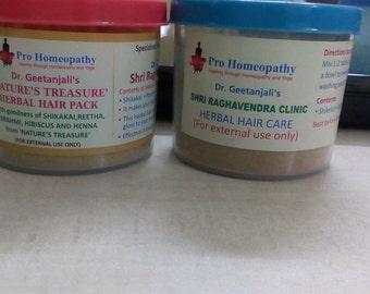 Dr Geetanjalis Natures Treasure Herbal hair pack