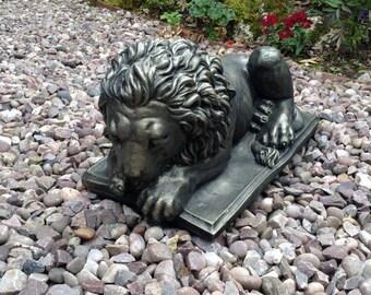 Sleeping Lion ornament