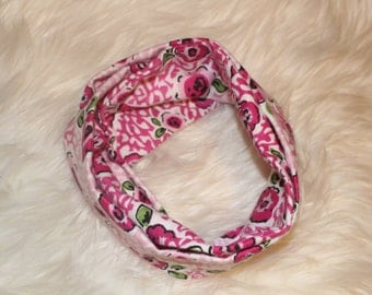 Baby Infinity Scarf Cheetah Floral