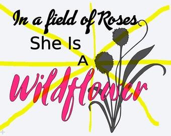 Wildflower SVG file