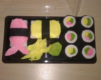 Funny sushi voucher box