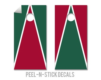 Stanford Colors Cornhole Board Decals