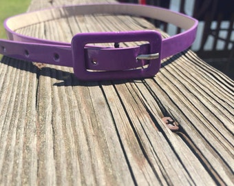 Purple Thin Belt