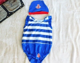 Ahoy sailor onsie outfit or costume