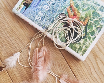 White Feather Accessory