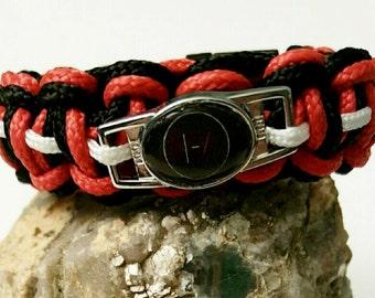 Twenty One Pilots Inspired Bracelet with Logo Charm