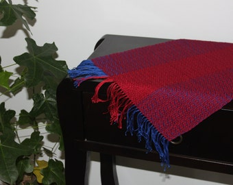 Table runner, Table runners handmade, Table runner red, Cotton table runner, Red runner, Red table runner, Red table decor