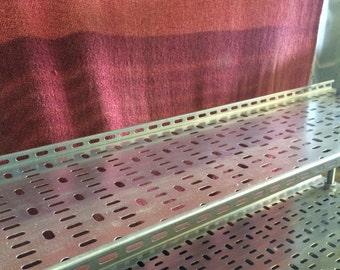 Reclaimed Industrial Tray Shelves/Shelving