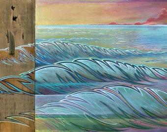 "Three Canvas print 28x16"""