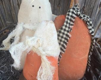 Halloween Pumpkin Ghost Candy Corn