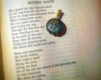 Mother Earth Green Stone Pendant