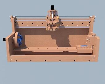 CNC lathe flat to build / CNC Lathe Plans DIY