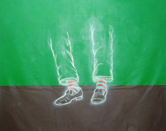 Green Leggs - Painting