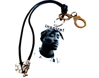 tupac necklace etsy