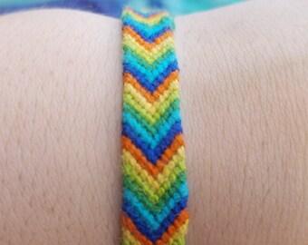 Chevron Pattern Bracelet