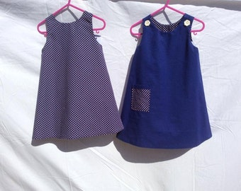 Reversible cotton dress
