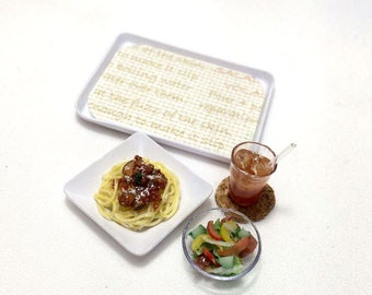 Free shipping! Miniature Spaghetti Lunch - MC-CR-312mo