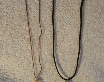 Necklace bottle of Gem Stones