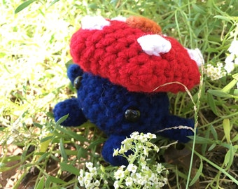Vileplume amigurumi plush plushie pokemon go crochet gloom bellsprout stuffed animal toy chibi
