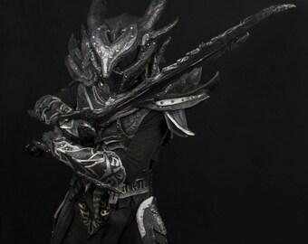 Custom Daedric Armor Skyrim Full Set Cosplay Costume