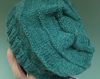 Knit Slouchy Hat (Other colors available)