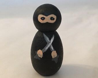 Little black ninja